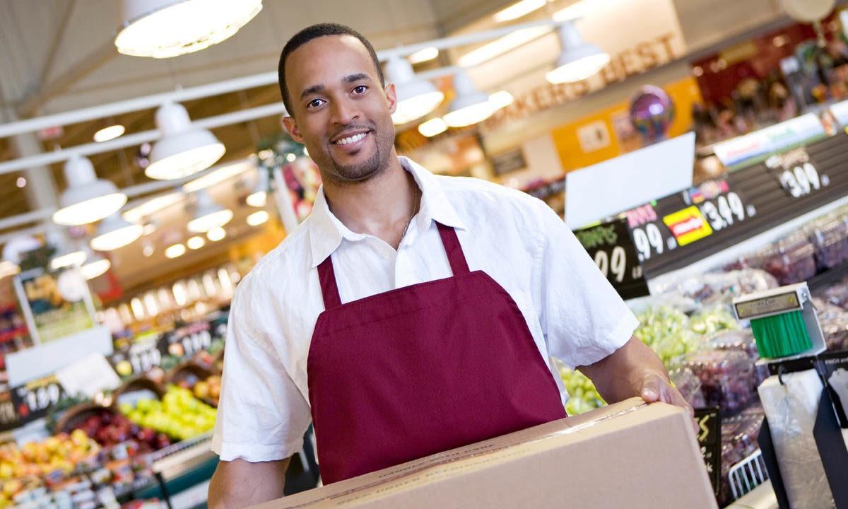 trabajador de retail